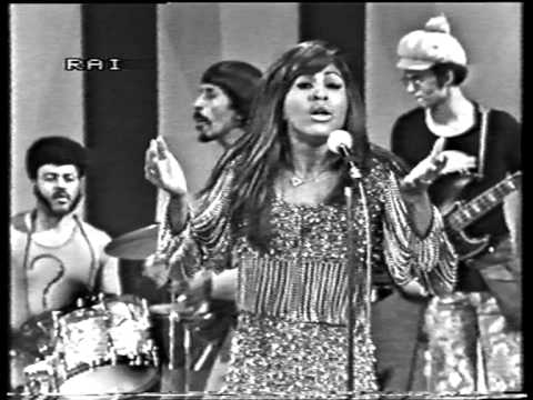 Tina Turner covers Creedence Clearwater Revival's Proud Mary