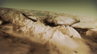 A topographic model of Mars by the ESA's Mars Express mission