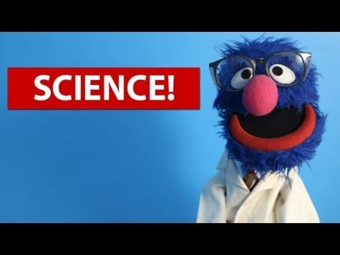 5 Fun Science Experiments for Kids (w/ Grover!)