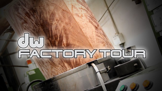 DW Drums Factory Tour