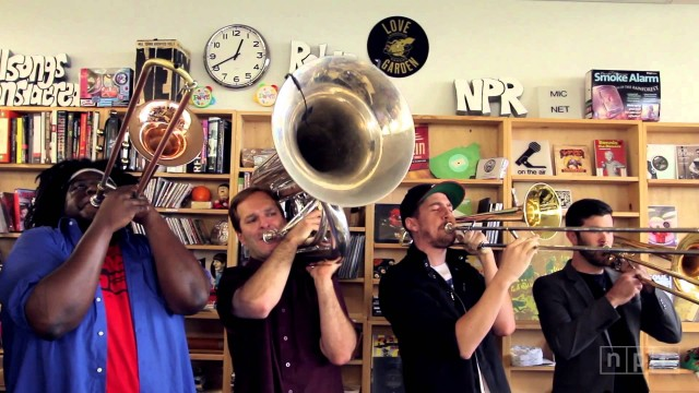 NPR Music's Tiny Desk Concerts: No BS! Brass Band