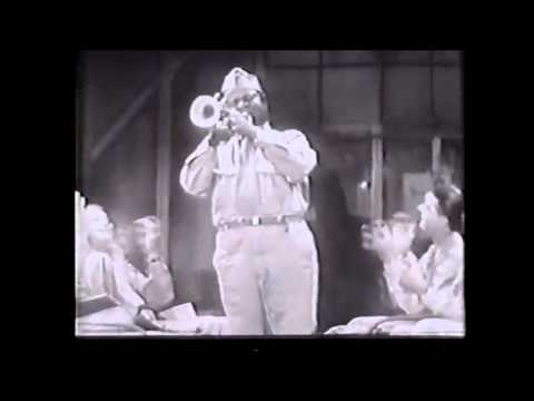 Louis Armstrong performs Basin Street Blues and Reveille