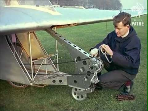 Flying Bicycle (1962) –British Pathé