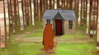 Bare: A bear adjusts to nature at his new house in the woods