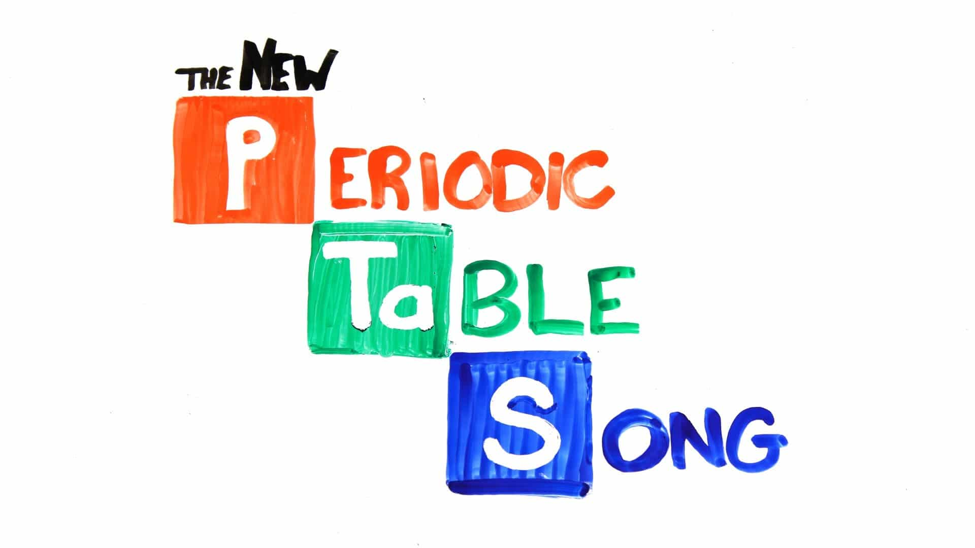 the new periodic table song asapscience the kid should see this