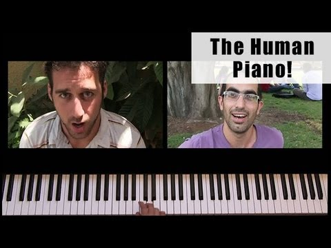 The Human Piano: Super Mario Bros. Theme