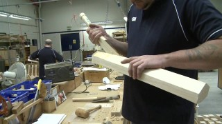 The Art of Cricket Bat Making, a factory tour