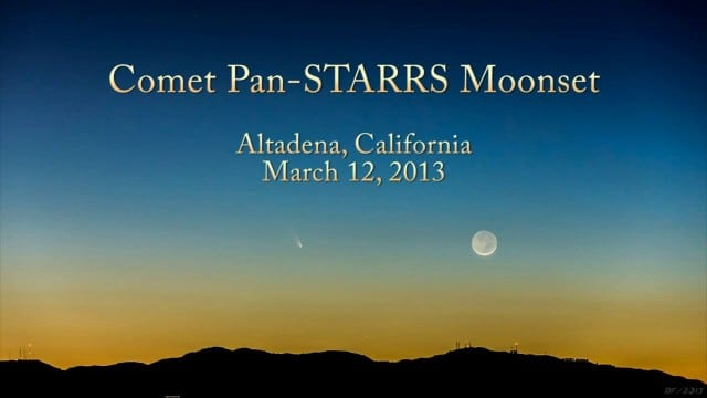 ScienceCasts: A Naked-Eye Comet – Comet Pan-STARRS