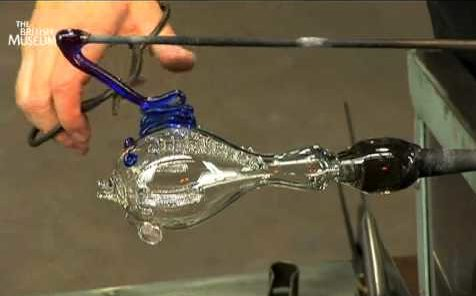 Remaking an ancient glass fish at the Corning Museum of Glass