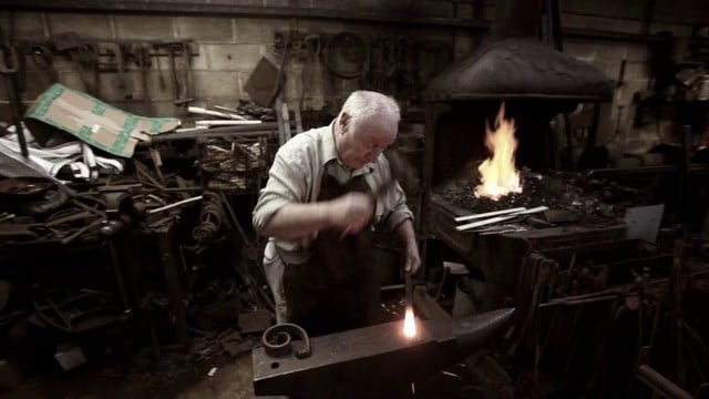 Britain's Longest-serving Blacksmith: Hardy Fred Harriss
