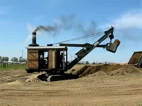 The Erie Steam Shovel Type B in action