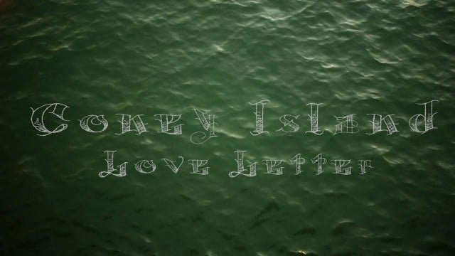 Coney Island Love Letter