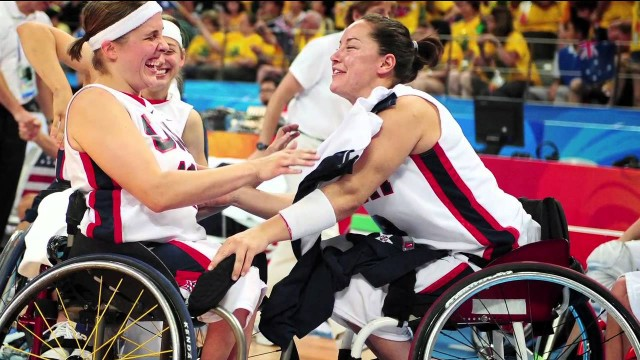Alana Nichols, the first woman to win gold in two Paralympics