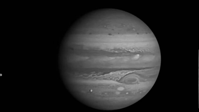Raw Footage of Jupiter from Voyager 1 (1979)