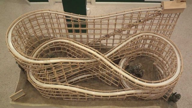 The Archimedes Marble Rollercoaster