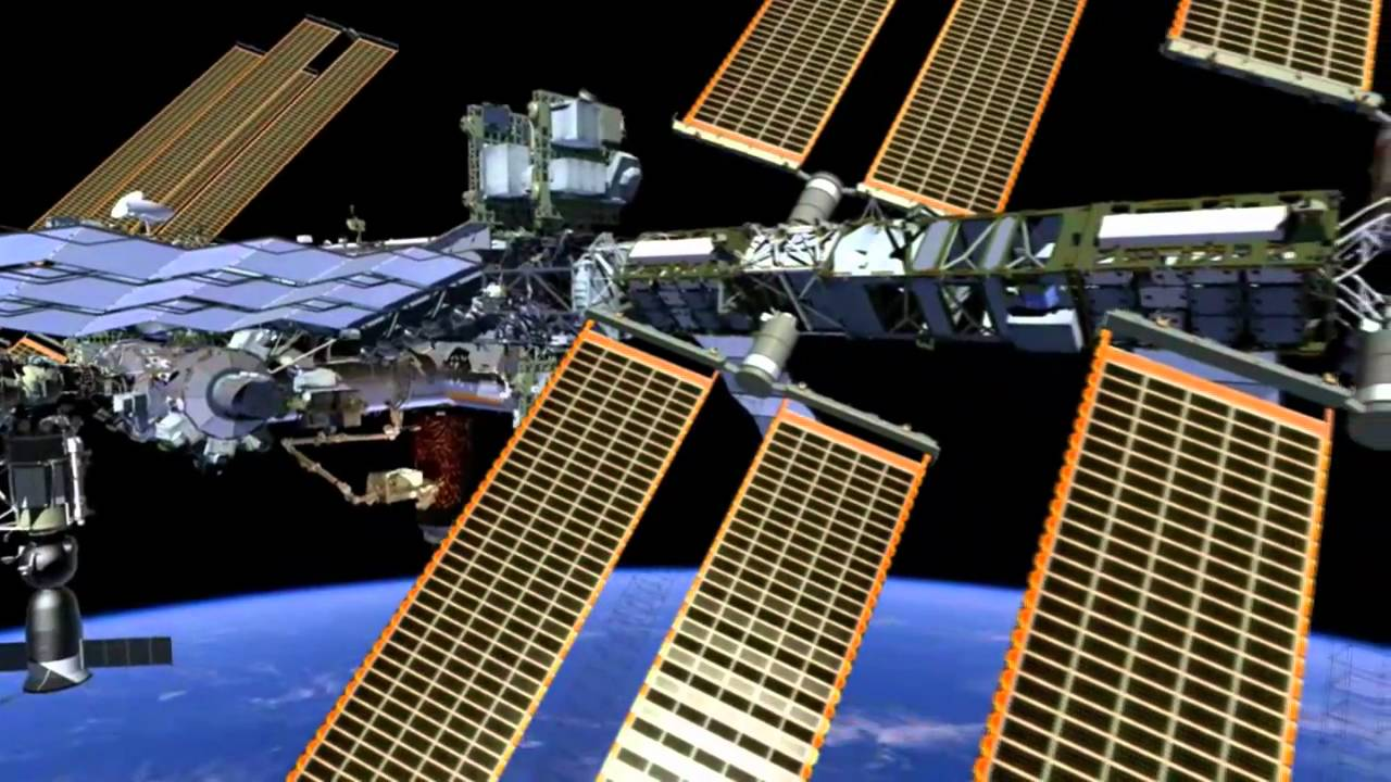 Fly Around The International Space Station In This