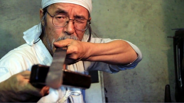 The Swordmaker: A last Japanese swordsmith forges a sword