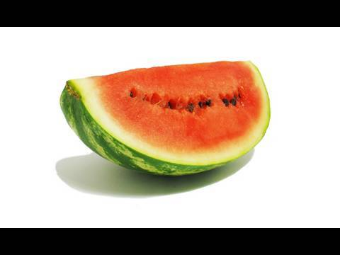 The decomposition of a watermelon over 35 days