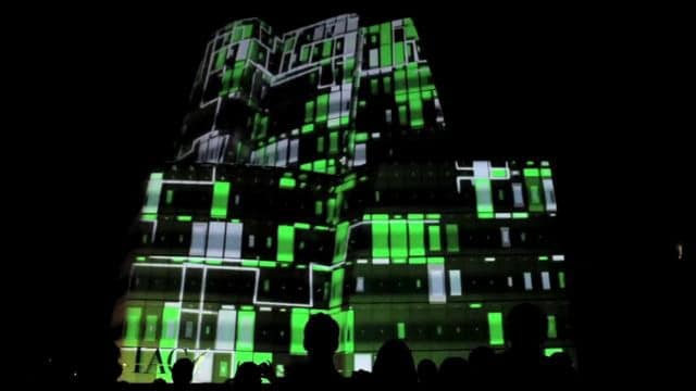 The LightLine of Gotham: 3D projection mapping in NYC