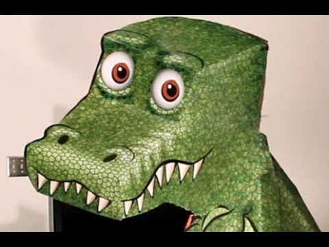 How to make the Amazing T-Rex Illusion