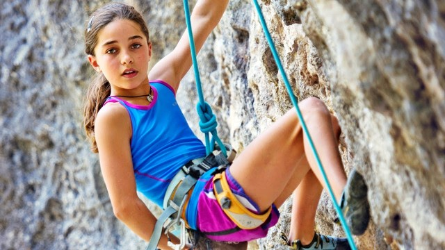 Watch 11-year-old rock climbing prodigy Brooke Raboutou climb