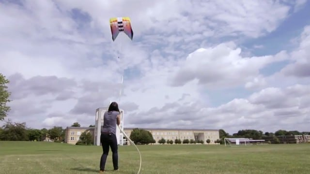 Understanding tether dynamics through kite flying