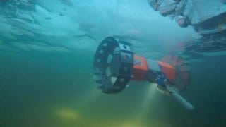 Testing a Space Rover Under Alaskan Ice