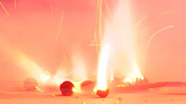 How are fireworks tested?