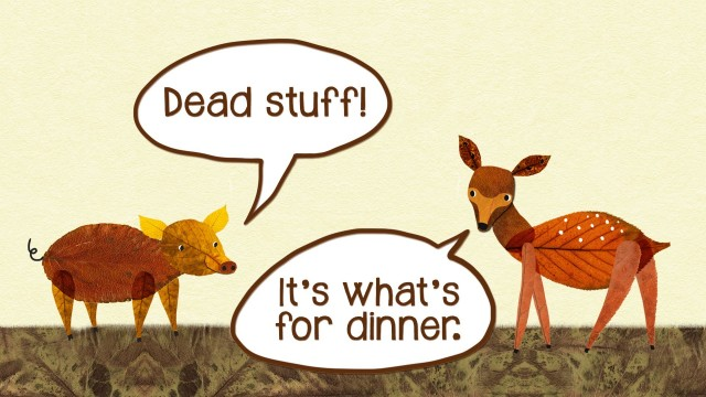 Dead stuff – The secret ingredient in our food chain
