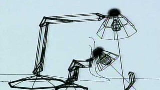 Luxo Jr. Pencil Test: Emotional storytelling in wire frames