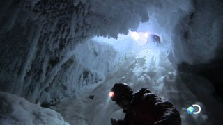 Antarctica's Ice Formations: Volcanic ice caves & undersea brinicles