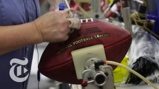Inside a Wilson Football Factory: How a NFL football is made