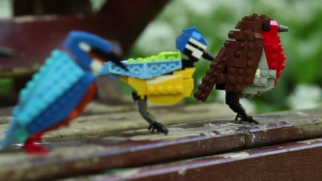 British birds created with LEGO (and made an official set)