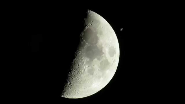 See the International Space Station transit the moon