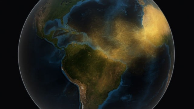 Satellite Tracks Saharan Dust to Amazon in 3-D – NASA