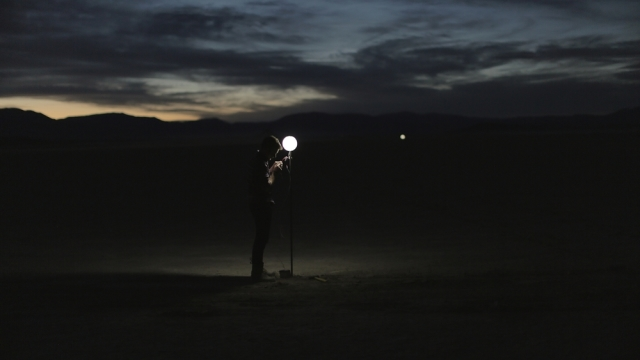 Building the solar system to scale in the Nevada desert