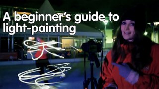 How to paint with ice skates, a light painting beginner's guide