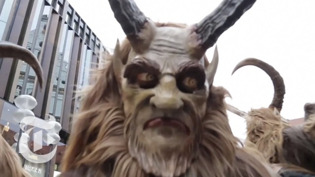 In Bavaria, Krampus Catches the Naughty