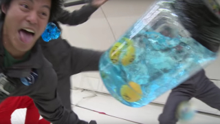 Zero Gravity 360° + Weightless Water Experiments