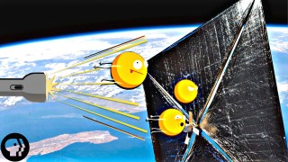 Can you push a spacecraft with light? –Physics Girl