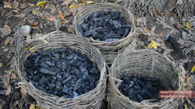 Making charcoal, baskets, & stone hatchets – Primitive Technology