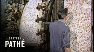 The art & technology behind 1960s Wallpaper Manufacturing