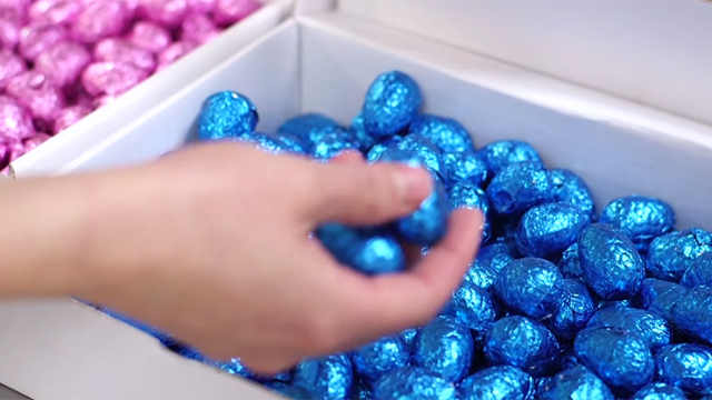 How chocolate Easter Eggs are made (for us & for the Queen)
