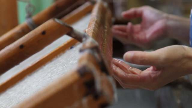 The Japanese handmade paper of Kyoto Kurotani