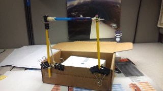 Solar and potential energy 'swing thing' mini machines