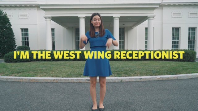 A Tour of the White House's West Wing in Sign Language