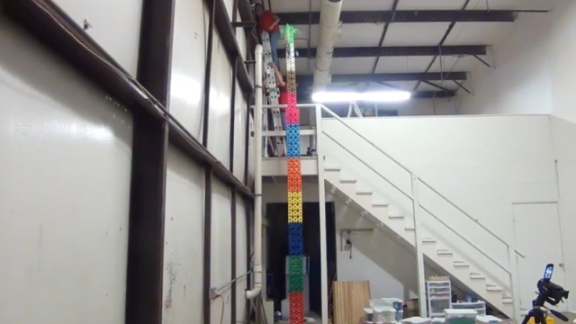 HUGE Domino Tower Fail