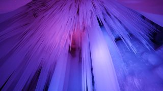 The 3-million-year old Ningwu ice cave never thaws