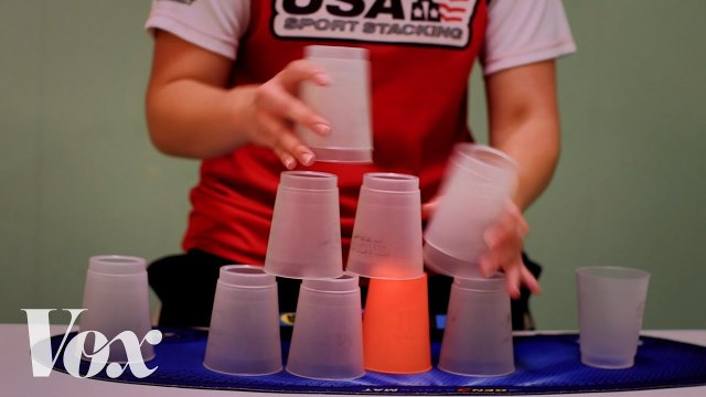 The incredible sport of cup stacking, explained