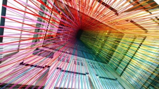 A million things that make your head spin, a rainbow tape time lapse